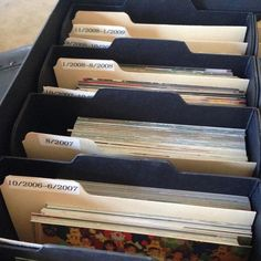 Best Way to Organize Photos in 6 Simple Steps 2019 Need To Organize Your Photos? Get Started Here The post Best Way to Organize Photos in 6 Simple Steps 2019 appeared first on Scrapbook Diy. Scrapbook Organization, Paper Organization, Storage Organization, Genealogy Organization, Organizing Tips, Scrapbook Supplies, Organizing Paperwork, Picture Storage, Photo Storage Boxes