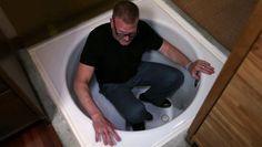 Steve's Luxurious Hidden Bathtub http://www.fyi.tv/shows/tiny-house-nation/videos/steves-luxurious-hidden-bathtub