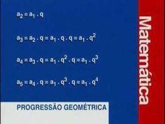 ▶ A 15 - Progressão Geométrica I - Matemática - Vestibulando Digital - YouTube