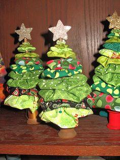 Yo Yo Christmas Trees