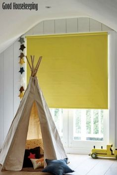 Interiors: boys' bedroom ideas: take shelter