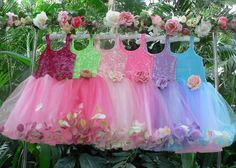 Fairy Flower girls!
