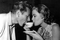 Danny Kaye and Grace Kelly on The Salonniere