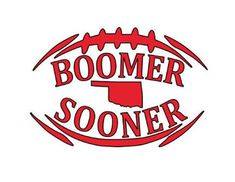 Boomer Sooner OU Fan Football Decal - permanent vinyl- perfect for Yeti & Rtic cups, coolers, lockers etc. by CandiGifts on Etsy Oklahoma Sooners Football, Oregon Ducks Football, Ohio State Football, College Football, Football Memes, Football Season, Diy Resin Crafts, Vinyl Crafts, Rtic Cups
