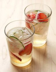 Strawberry-Cucumber Cooler