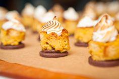 Hudson Ranch at Silverlake Wine | HeirloomLA - Pumpkin Bread Pudding Bites