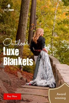 The award-winning blanket is luxurious faux fur on one side and waterproof, windproof RuggedTex fabric on the other. The RuggedTex backing is black. It is 50 x machine washable and weighs eight pounds. More than a statement-piece blanket, more than Brick Patterns Patio, Yard Party, Fear Of The Unknown, French Country Bedrooms, Faux Fur Blanket, Pet Chickens, Vegetable Garden Design, Stargazing, Living Room Designs