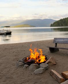 Priest Lake Idaho  SUMMER TIME