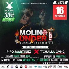 "El Molino presenta: ""Molino Under Fest"" http://crestametalica.com/evento/molino-presenta-molino-under-fest/ vía @crestametalica"