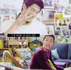 Hyungsik's Aegyo at its finest. ^_~