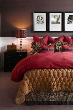 bexcetera: A Sexy Bedroom for Valentine's Day. Romantic Bedroom Ideas For Valentines Day Bedroom Red, Modern Bedroom, Bedroom Decor, Eclectic Bedrooms, Bedroom Romantic, Bedroom Ideas, Pretty Bedroom, Bedroom Vintage, Contemporary Bedroom