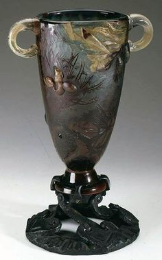 Emile gallé - Vase - 1896 More At FOSTERGINGER @ Pinterest