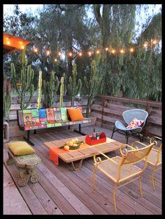 Bright modern deck Rancho Reubidoux