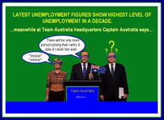 TONY ABBOTT *  BREAKING: UNEMPLOYMENT FIGURES AT RECORD HIGHS
