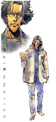 MGS1. Hal Emmerich. Yoji Shinkawa.