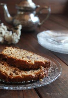 Cocina compartida: PLUM-CAKE DE DÁTILES Y NUECES CON MIEL