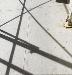 Scaffolded shadows afternoon light. Beauty is where you find it. #lines #geometry #art #nyc @mkap73