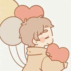 anime, couples, and cute image Cute Chibi Couple, Cute Couple Cartoon, Cute Couple Art, Anime Couples Drawings, Cute Anime Couples, Cute Anime Chibi, Kawaii Anime, Dibujos Cute, Cute Doodles
