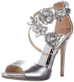 Lovely Silver Dress Sandals Wedding Check More At Http://svesty.com/