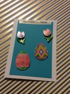 Online Sale 3D Easter Greeting Card handmade greeting by EMTWTT