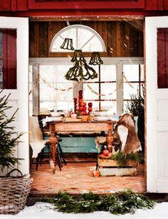 Inspirerande juldukning med enkla medel - Inredning - Hus & Hem