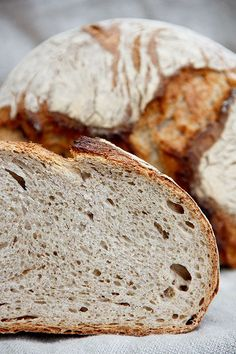 Locker, elastisch und dank zweierlei Sauerteig sehr aromatisch: Abend-Brot... - http://back-dein-brot-selber.de/brot-selber-backen-rezepte/locker-elastisch-und-dank-zweierlei-sauerteig-sehr-aromatisch-abend-brot/