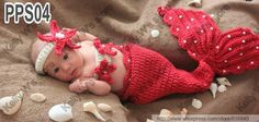 baby crochet mermaid pattern free | new arrival Baby Crochet Mermaid Tail Shells…