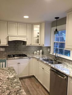 Gorgeous farmhouse gray kitchen cabinets ideas ( ..   - CLICK THE IMAGE for Various Kitchen Cabinet Ideas. #kitchencabinets #kitchenorganization