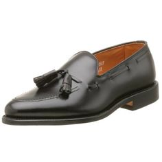 Allen Edmonds Men's Grayson Tassel D, Crisp and traditional, this office-ready loafer offers timeless style. Mens Loafers Shoes, Bit Loafers, Dress Loafers, Tassel Loafers, Penny Loafers, Men S Shoes, Leather Loafers, Loafer Shoes, Leather Men