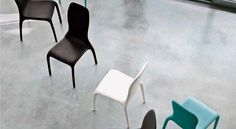 Lisetta seat made in cold foamed polyurethane, completely upholstered in leather, eco leather or fabric