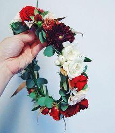 Fresh flower crown Fresh Flowers, Flower Crown, Floral Wreath, Wreaths, Home Decor, Crown Flower, Floral Crown, Floral Crown, Decoration Home