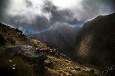 Vistas bajando de Peña Telera, Piedrafita de Jaca, Pirineo Aragonés.