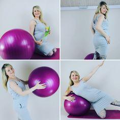 Strój mniej sportowy ale w ruchu :) #activepregnancy #aktywnamama #cwiczeniawciazy #ciąża #ciaza #activemum #activemoms #pregnant #pregnancy #pregnantlife #instagramfitness #fit #fitmama #fitball #cwiczewdomu