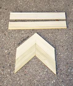 DIY Wooden Arrow Tutorial // via cherishedbliss.com