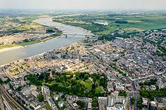 (Luchtfotografie SiebeSwart.nl Aerial Photography) Tags: city holland nature netherlands river landscape town nederland aerialview aerial rivers aerialphoto innercity oldtown centrum birdseyeview citycentre stad luchtfoto overview landschap towncentre cit