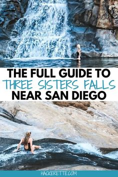If you are looking for outdoor activities near San Diego, take a hike on Three Sisters Falls trail where you can swim at the base of the waterfall and even slide down part of it. #sandiego #california #southerncalifornia | things to do in San Diego | things to do in Southern California | San Diego waterfalls | San Diego hidden gems | San Diego hiking trails | San Diego hikes | San Diego day trips | Three Sisters Falls San Diego | day trips from San Diego | Southern California hikes
