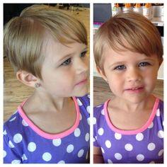 Girls pixie hair cut - Mädchen Frisuren - Baby Tips Pixie Cut For Kids, Little Girls Pixie Cut, Little Girls Pixie Haircuts, Baby Girl Haircuts, Little Girl Short Haircuts, Baby Haircut, Toddler Haircuts, Little Girl Hairstyles, Pixie Hairstyles