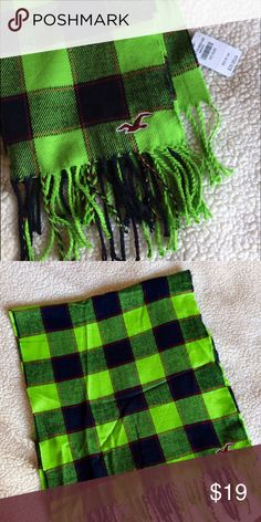 Hollister Scarf NWT ❄️️ Hollister Scarf NWT ❄️️ soft, bright and beautiful Hollister Accessories Scarves & Wraps