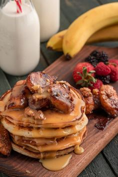Pancakes, Brunch, Breakfast, Recipes, Food, Morning Coffee, Recipies, Essen, Pancake