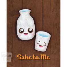 8x10 Sake To Me Print, my roommate and I have tons of these in our kitchen :)