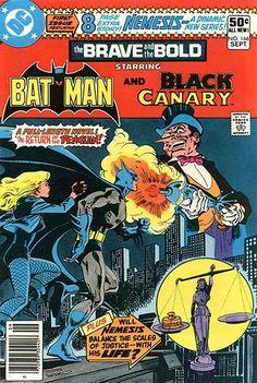 #dc #dccomics #thebraveandthebold #braveandthebold #comicbooks #comiccovers #covers #comics #batman #comicwhisperer #blackcanary