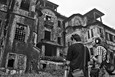 Chefs Run Wild on location at the eerie Bokor Hill Station near Kampot in Cambodia