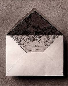 Lined envelopes - hidden treasures