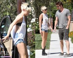 miley Cyrus summer outfit