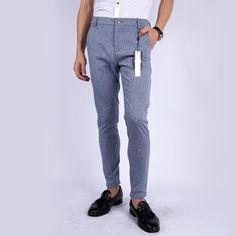 Own design men's 2015 fashion slim pants