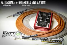 http://swee.ps/cqVYAijpI   @RSnakeCableCo 2x Custom Cable and @greenchildamps K818 give away