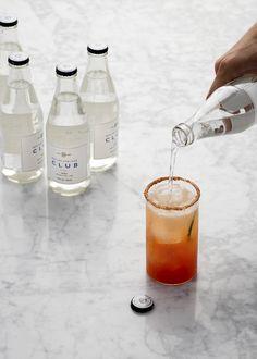 Makes 4 cocktails  A