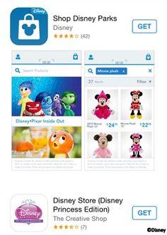 Disney Launches New Shop Disney Parks App
