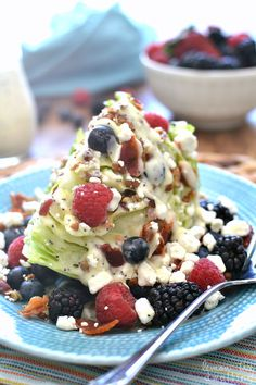 Berry Wedge Salad -