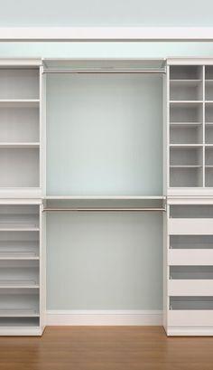 ClosetMaid Modular Storage Shelf and Hang Rod Kit Closet Storage, Girl Bedroom Decor, Bedroom Organization Closet, Closet Layout, Closet Makeover, Bedroom Storage Ideas For Clothes, Organization Bedroom, Ikea Closet, Closet Renovation